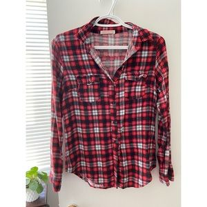 Ardene plaid shirt